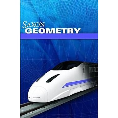 Saxon Geometry, New Book (9781602773059)