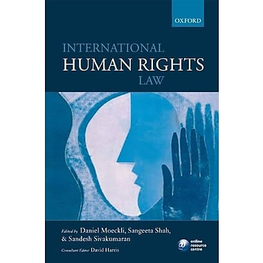 International Human Rights Law, New Book (9780199560257)