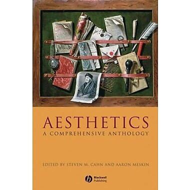 Aesthetics: A Comprehensive Anthology, New Book (9781405154345)