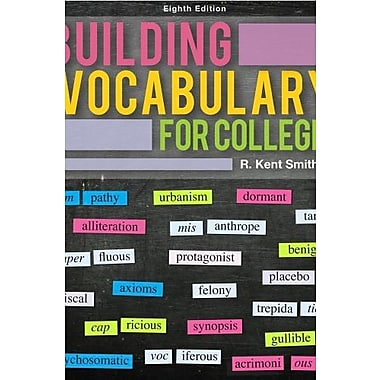 Building Vocabulary for College (9781285091457)