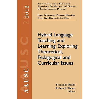 AAUSC 2012 Vol. -- Issues in Language Program Direction, Used Book (9781285174679)
