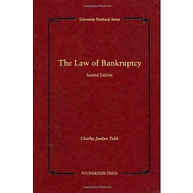 The Law of Bankruptcy, 2d (University Textbooks) (University Textbook Series), New Book (9781599412566)