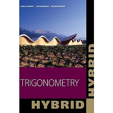 Trigonometry, Hybrid, New Book (9781111574475)