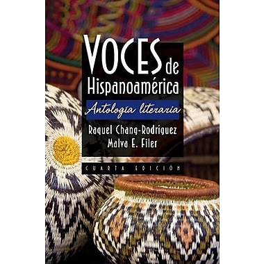 Voces de Hispanoamerica, New Book (9781111837921)