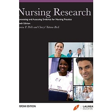 Nursing Research: Generating and Assessing Evidence for Nursing Practice 9th Ed, Softcover,, New Book (9781469823942)