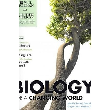 Scientific American Biology for a Changing World with Physiology (Loose Leaf), New Book (9781464100956)