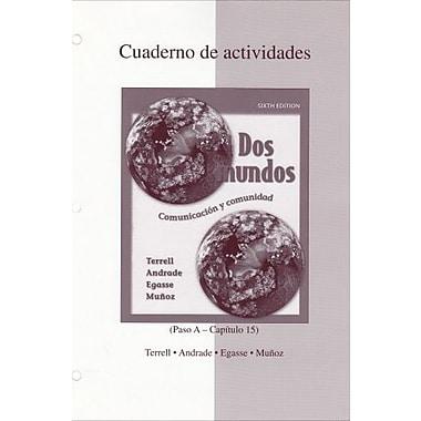 Dos Mundos: Cuaderno de actividades (Spanish Edition), New Book (9780073030913)