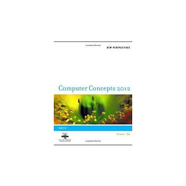 New Perspectives on Computer Concepts 2012: Brief, Used Book (9781111529093)