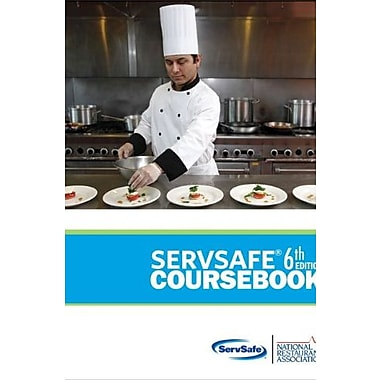 ServSafe CourseBook with Online Exam Voucher (6th Edition) (MyServSafeLab Series), Used Book (9780133075854)