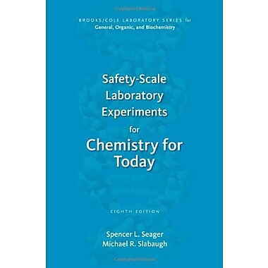 Safety-Scale Laboratory Experiments for Chemistry for Today, Used Book (9781133604259)