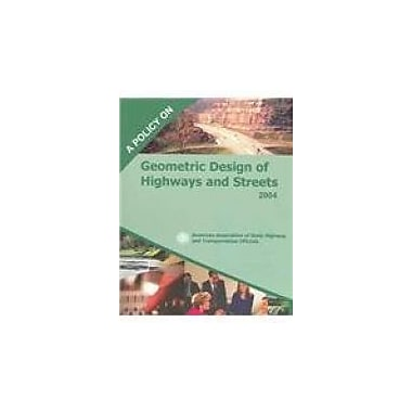 Policy on Geometric Design of Highways and Streets 2004, New Book (9781560512639)