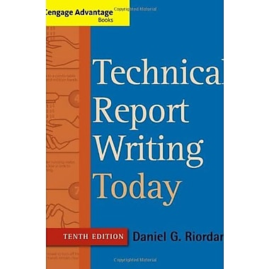 Technical Report Writing Today, New Book (9781133607380)