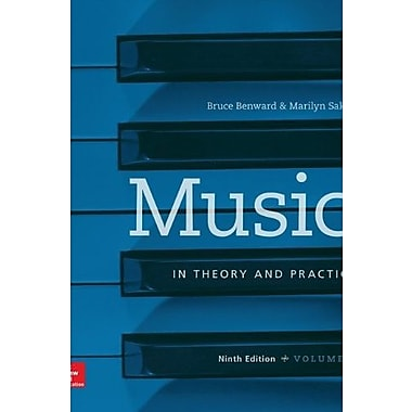 Music in Theory and Practice Vol I with Workbook, Used Book (9781259302299)
