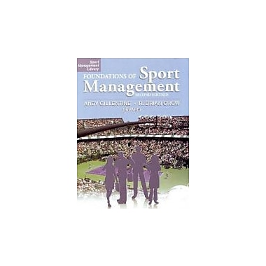 Foundations of Sport Management, New Book (9781885693945)
