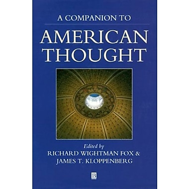 Companion to American Thought (Blackwell Reference), New Book (9781557862686)