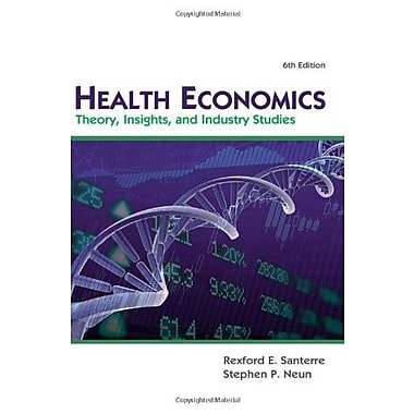 Health Economics (Upper Level Economics Titles), Used Book (9781111822729)