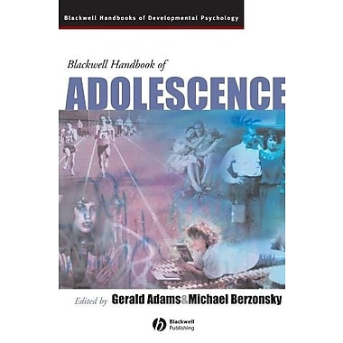 Blackwell Handbook of Adolescence, New Book (9781405133029)