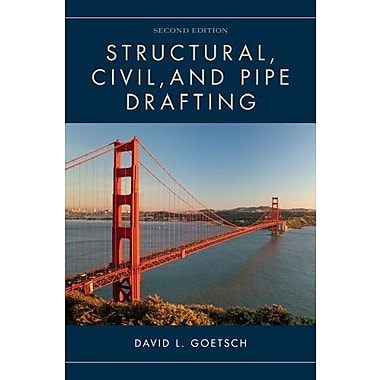 Structural, Civil and Pipe Drafting, (9781133949398)