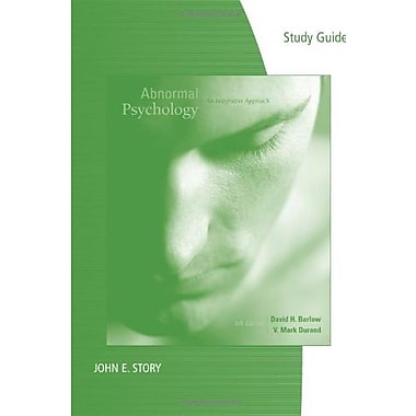 Study Guide for Barlow/Durand's Abnormal Psychology: An Integrative Approach, 6th, (9781111354244)