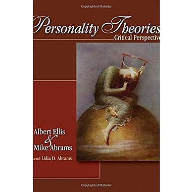 Personality Theories: Critical Perspectives, New Book (9781412914222)