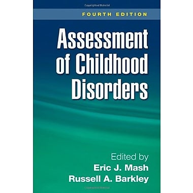 Assessment of Childhood Disorders, Fourth Edition, New Book (9781593854935)
