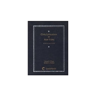 Civil Litigation in New York, Used Book (9780820570723)