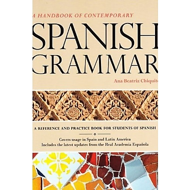 Handbook of Contemporary Spanish Grammar Student Edition w/ Supersite Code (9781617671067)