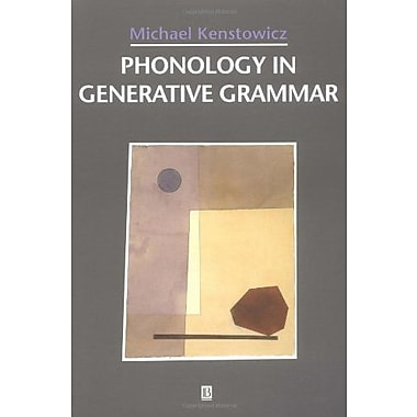 Phonology in Generative Grammar (Blackwell Textbooks in Linguistics, No. 7), New Book (9781557864260)