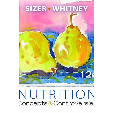Nutrition: Concepts and Controversies, Update (with 2010 Dietary Guidelines), New Book (9781133108559)