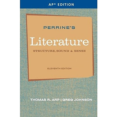 Perrine's Literature: Structure, Sound & Sense (AP Edition), New Book (9781111351526)