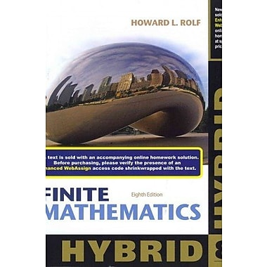 Finite Mathematics, Hybrid with Enhanced WebAssign (9781285084640)