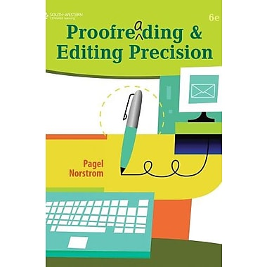 Bundle: Proofreading & Editing Precision (with CD-ROM), New Book (9781111624941)