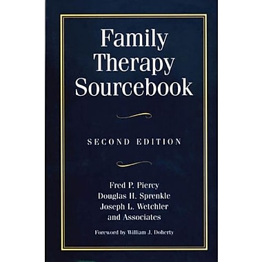 Family Therapy Sourcebook: Second Edition, New Book (9781572301511)