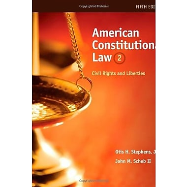American Constitutional Law: Civil Rights and Liberties, Volume II, (9780495914907)