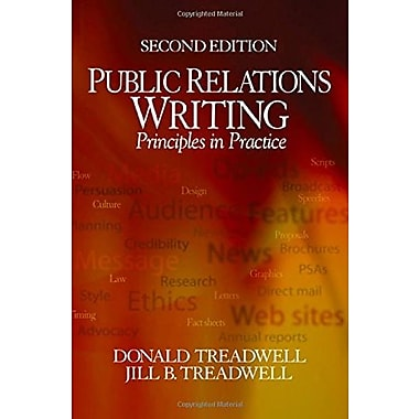 Public Relations Writing: Principles in Practice, New Book (9781412905510)