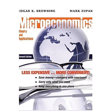 Microeconomics: Theory and Applications, New Book (9781118129371)