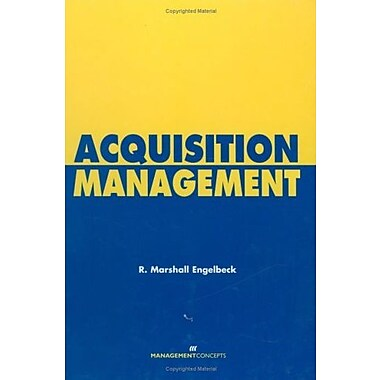Acquisition Management, New Book (9781567261288)