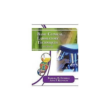 Basic Clinical Laboratory Techniques, New Book (9781111138363)