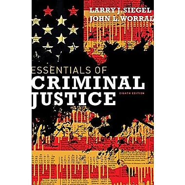 Cengage Advantage Books: Essentials of Criminal Justice, New Book (9781111841812)