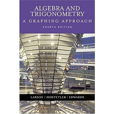 Algebra and Trigonometry: A Graphing Approach (4th Edition), (9780618394555)