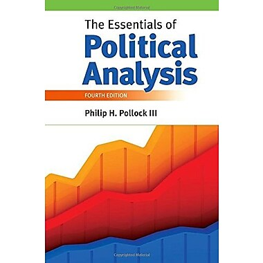 The Essentials of Political Analysis, New Book (9781608716869)