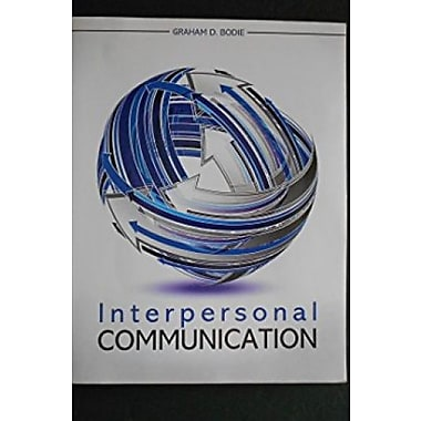 Interpersonal Communication, Used Book (9781465206206)