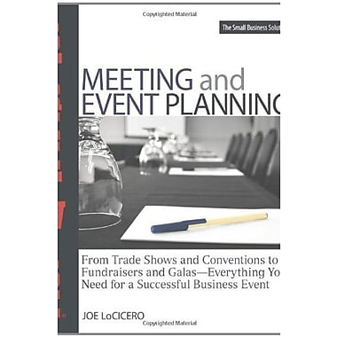 Streetwise Meeting and Event Planning: Everything You Need for a Successful Business Event, Used Book (9781598692716)