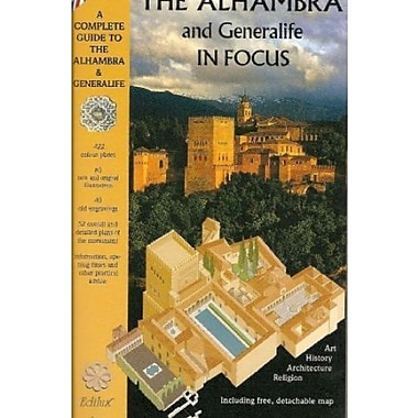 The Alhambra and Generalife in Focus, Used Book (9788487282362)