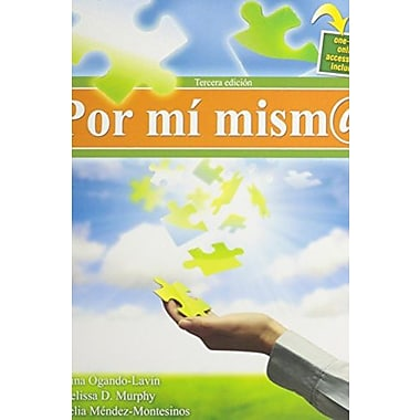 Por mi mism@, New Book (9781465211644)