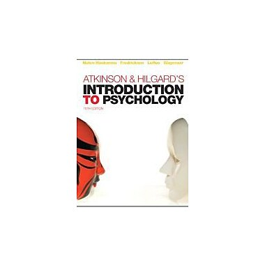 Atkinson & Hilgard's Introduction to Psychology, New Book (9781844807284)