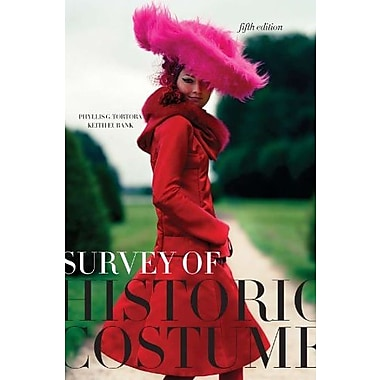 Survey of Historic Costume 5th edition + Free Student Study Guide, Used Book (9781609012304)