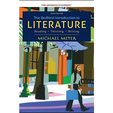 The Bedford Introduction to Literature, High School Version, New Book (9781457615924)