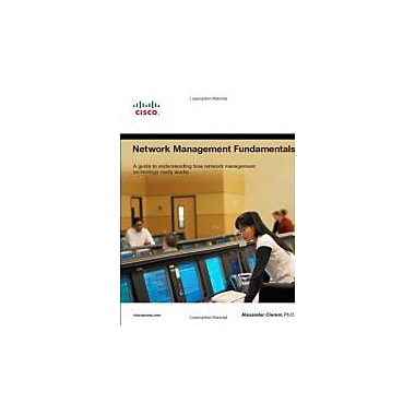 Network Management Fundamentals, New Book (9781587201370)