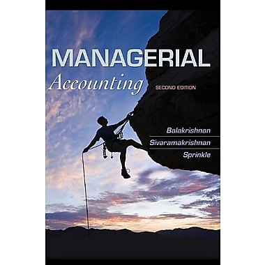 Managerial Accounting, Used Book (9781118385388)